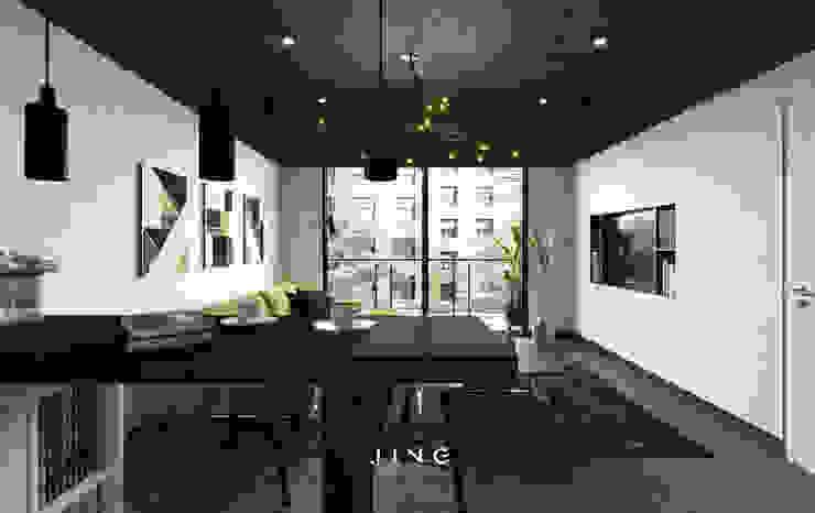 景寓空間設計 ห้องนั่งเล่น