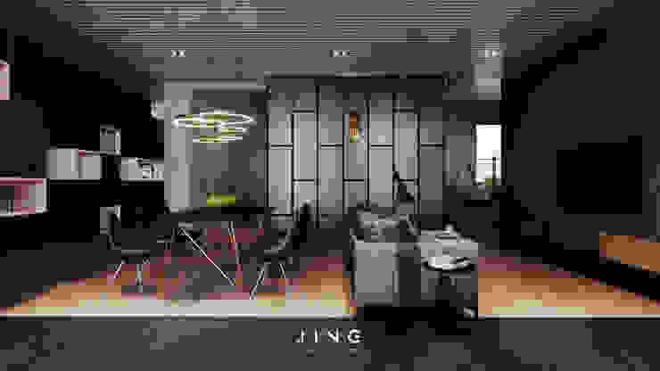 Modern living room by 景寓空間設計 Modern