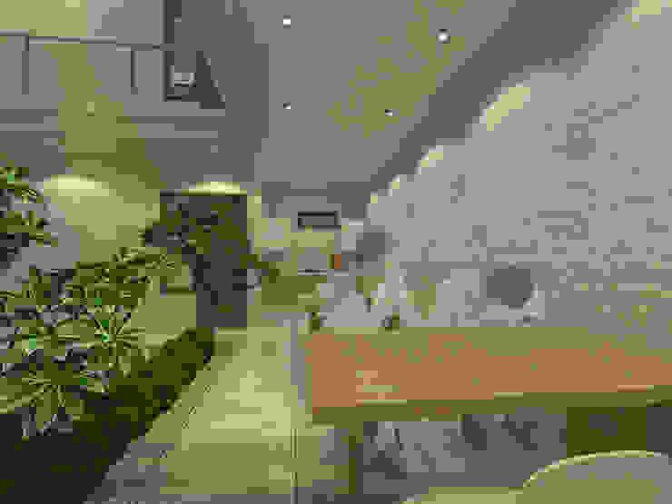 Ruang dalam dan dapur Oleh Koloni Tri Arsitama