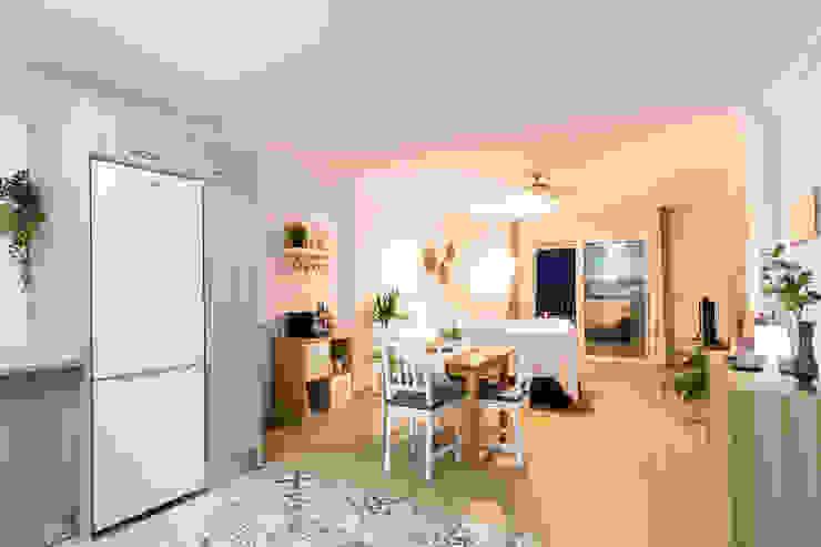 Mediterranean style living room by Home & Haus   Home Staging & Fotografía Mediterranean