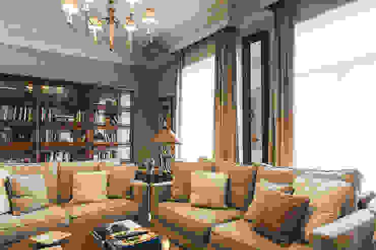 Reformar y redecorar una casa en la coruña LUCIA PARGA INTERIORISTA Salones de estilo clásico