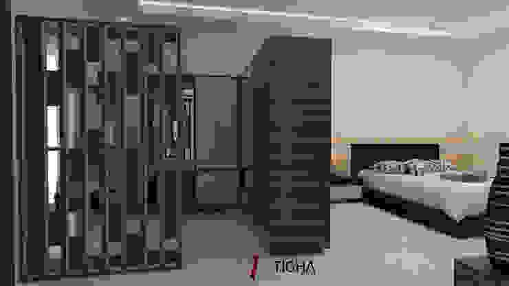 Design Interior Mrs.S Master Bedroom Oleh Tigha Atelier Tropis