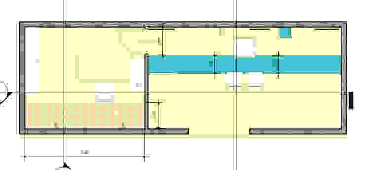 Plano Estudios y oficinas modernos de Ponce Interiores Moderno