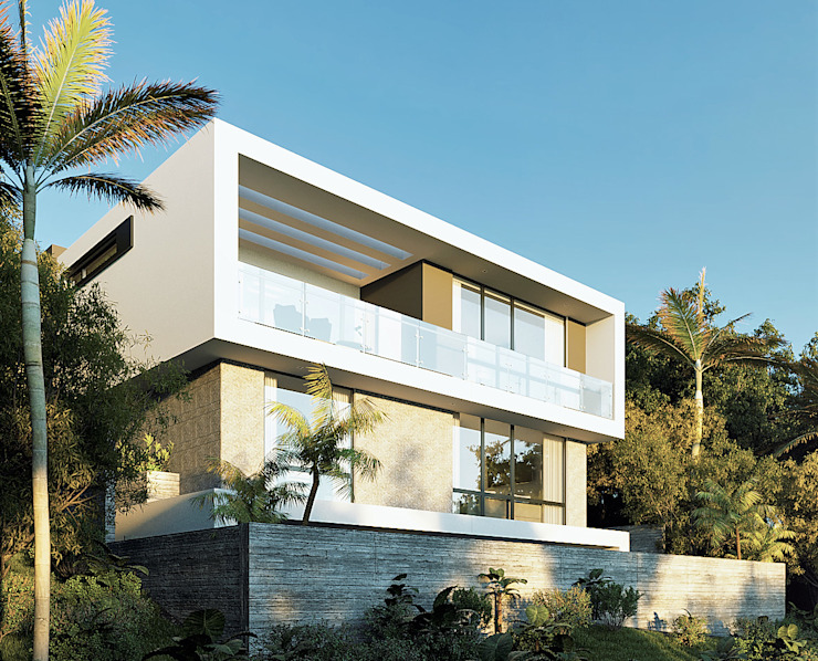 CODIAN CONSTRUCTORA Minimalist house White