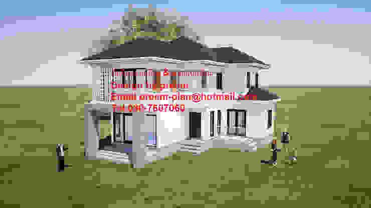 บ้านพัก 2 ชั้น โดย รับเขียนแบบบ้าน&ออกแบบบ้าน คลาสสิค