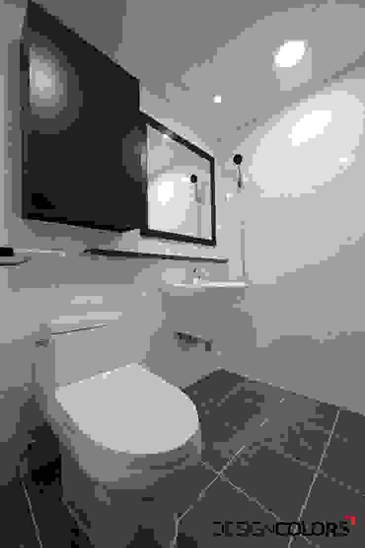 노원구 하계동 청구 아파트 인테리어 31평 모던스타일 욕실 by DESIGNCOLORS 모던