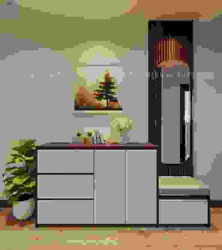 Tủ giày tiện lại và sang chảnh Công ty TNHH Nội Thất Mạnh Hệ Phòng khách White
