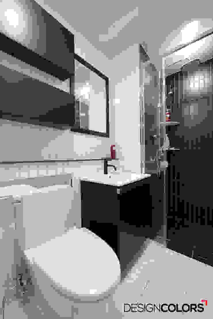 양평동 구산드림타워 오피스텔인테리어 모던스타일 욕실 by DESIGNCOLORS 모던