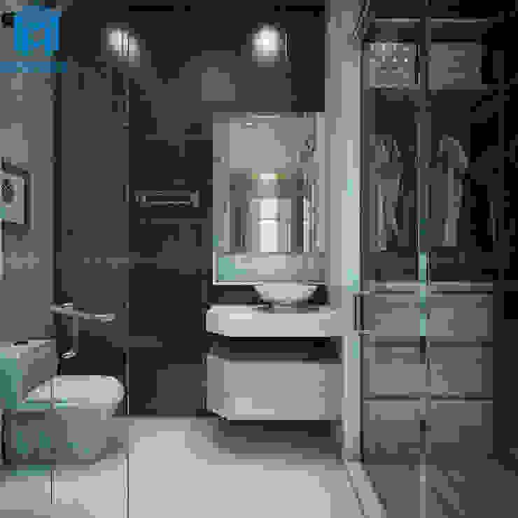 Nhà tắm hiện đại và thông minh Phòng tắm phong cách hiện đại bởi Công ty TNHH Nội Thất Mạnh Hệ Hiện đại
