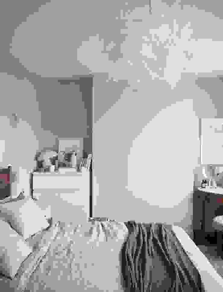 Thiết Kế Phòng Ngủ Đẹp Tinh Tế Sau Sửa Chữa Cải Tạo bởi Công ty Thiết Kế Xây Dựng Song Phát Hiện đại