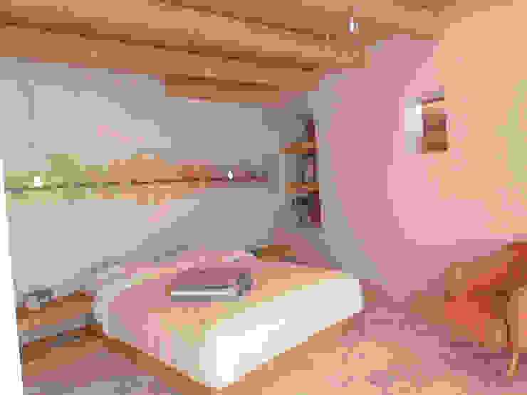Dormitorios de estilo rural de Ing. Massimiliano Lusetti Rural
