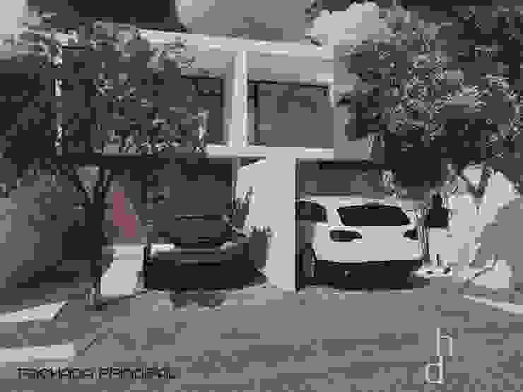 Proyecto de casa habitación diseñada en Mérida de Heftye Arquitectura Moderno Concreto