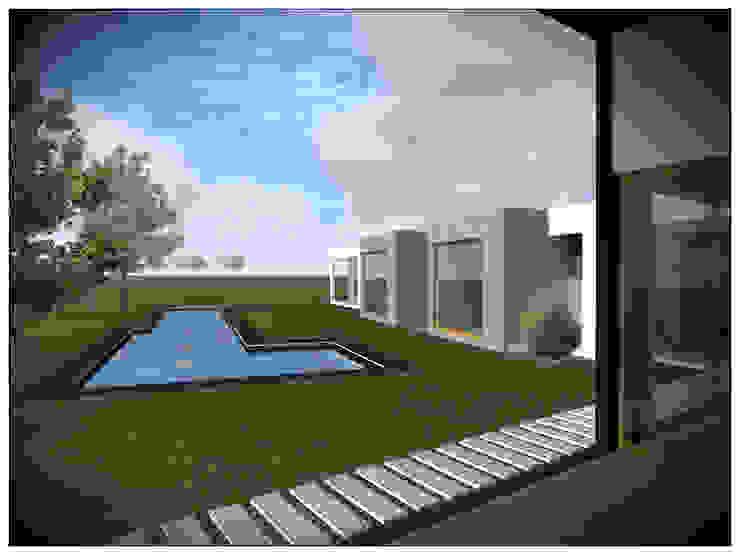 VIVIENDA RURAL CONTEMPORÁNEA PANEL SIP de Vicente Espinoza M. - Arquitecto Mediterráneo