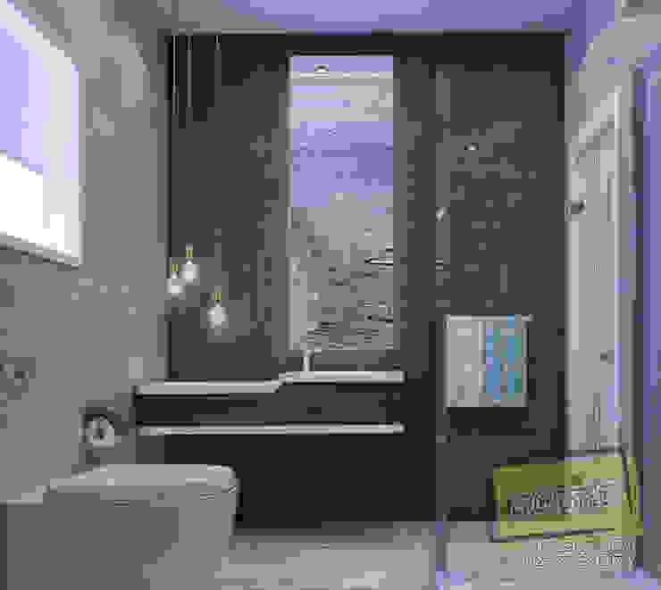 مشروع فيلا القاهره الجديدة:  حمام تنفيذ Archeffect,