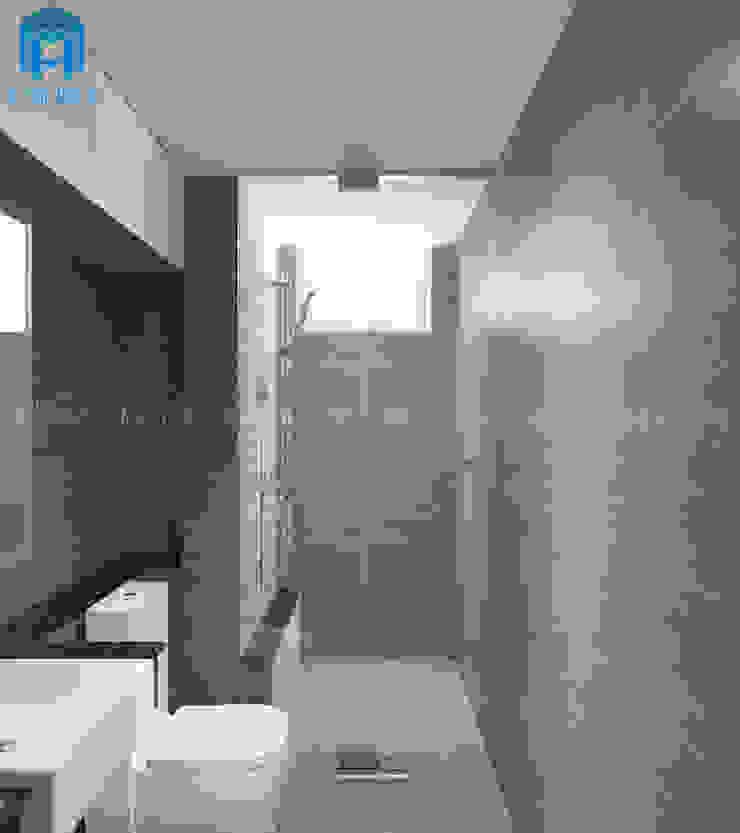 Nội thất phòng tắm khá sang trọng Phòng tắm phong cách hiện đại bởi Công ty TNHH Nội Thất Mạnh Hệ Hiện đại