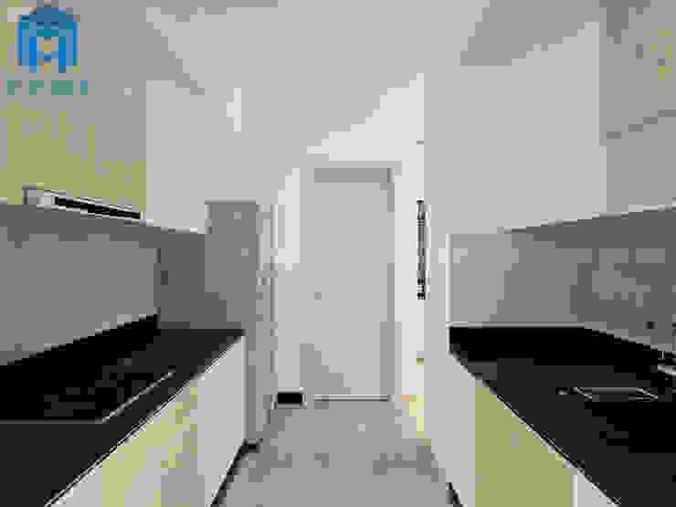 Không gian phòng bếp hiện đại và đầy đủ tiện nghi Phòng ăn phong cách hiện đại bởi Công ty TNHH Nội Thất Mạnh Hệ Hiện đại