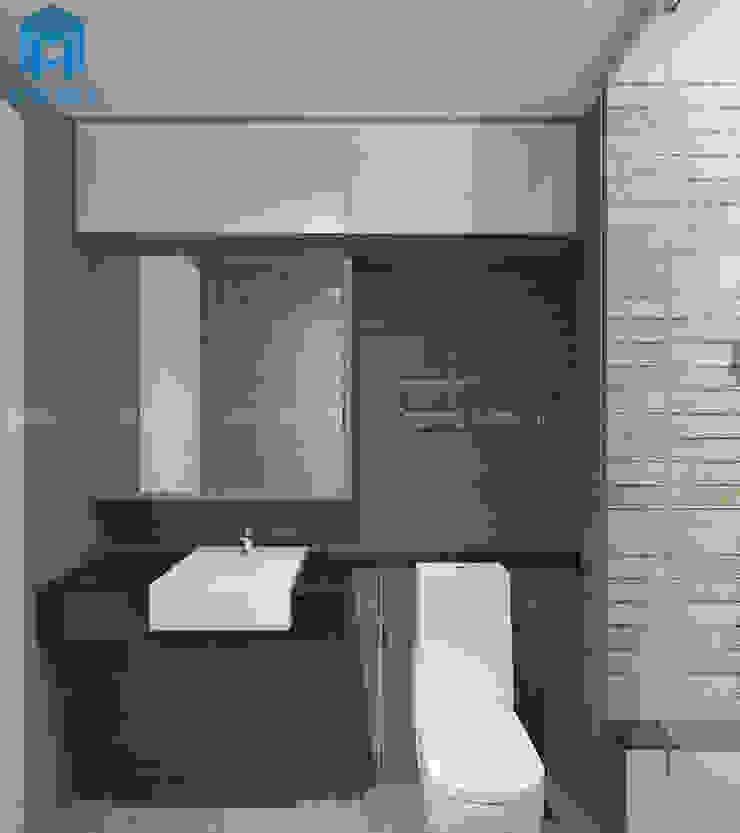 Nhà tắm hiện đại và đẹp Phòng tắm phong cách hiện đại bởi Công ty TNHH Nội Thất Mạnh Hệ Hiện đại