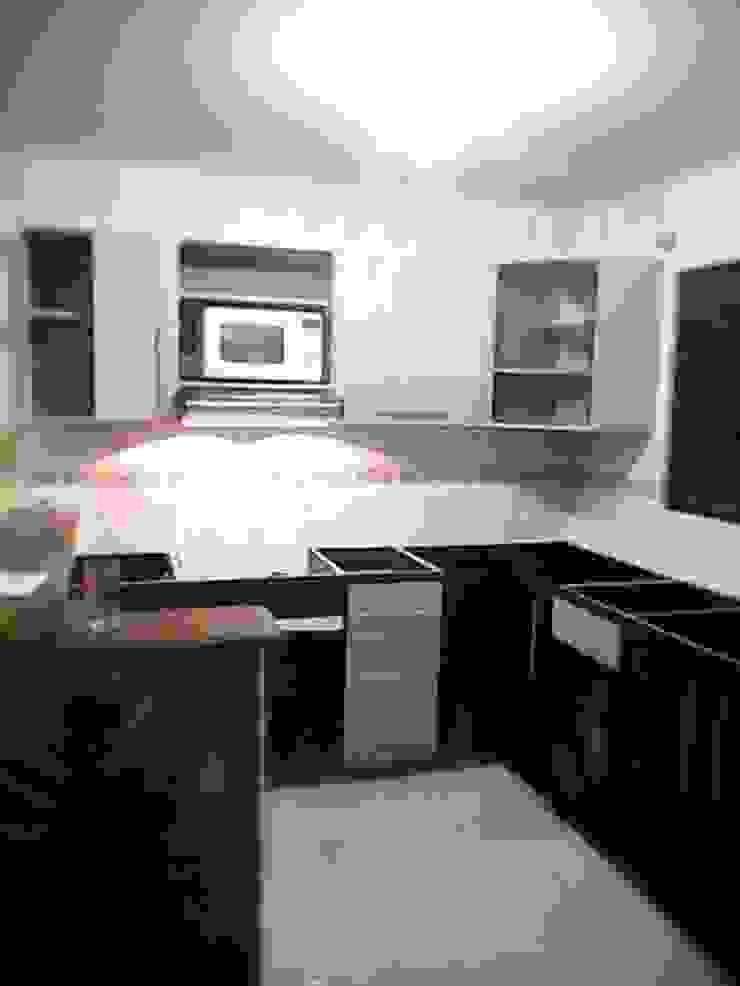 Cocinas integrales de carloscobar38 Moderno Aglomerado