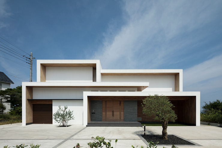 Rumah Modern Oleh 株式会社横山浩介建築設計事務所 Modern
