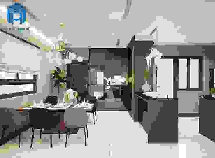 Nội thất phòng ăn sang trọng Phòng ăn phong cách hiện đại bởi Công ty TNHH Nội Thất Mạnh Hệ Hiện đại