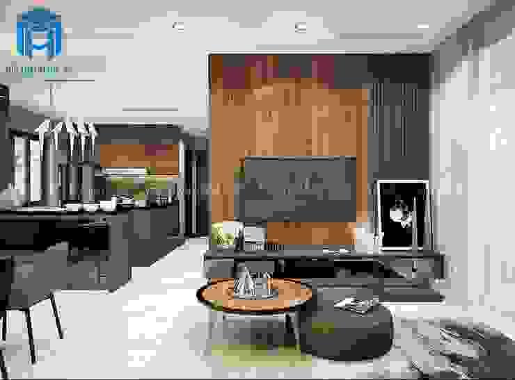 Thiết kế nội thất phòng bếp đầy sang trọng và đẳng cấp bởi Công ty TNHH Nội Thất Mạnh Hệ Hiện đại