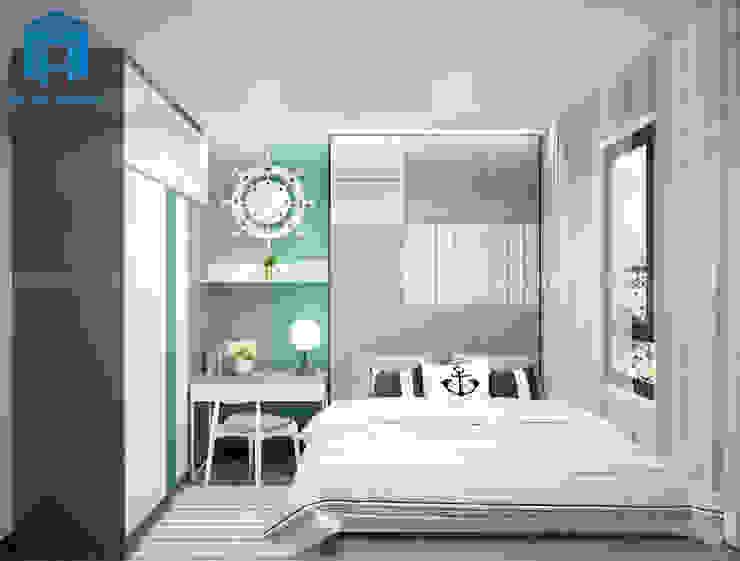 Phòng ngủ theo phong cách cá tính và năng động Phòng ngủ phong cách hiện đại bởi Công ty TNHH Nội Thất Mạnh Hệ Hiện đại