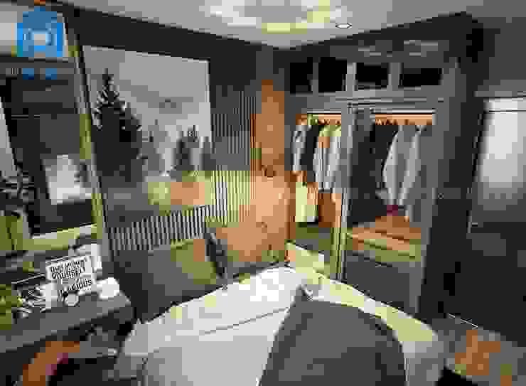 Bố trí phòng ngủ khá gọn gàng và ngăn nắp Phòng ngủ phong cách hiện đại bởi Công ty TNHH Nội Thất Mạnh Hệ Hiện đại