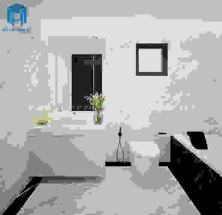 Nội thất phòng tắm hiện đại, tiện dụng Phòng tắm phong cách hiện đại bởi Công ty TNHH Nội Thất Mạnh Hệ Hiện đại