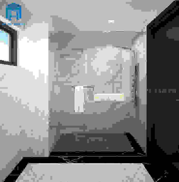 Nhà tắm vòi sen với phong cách hiện đại Phòng tắm phong cách hiện đại bởi Công ty TNHH Nội Thất Mạnh Hệ Hiện đại