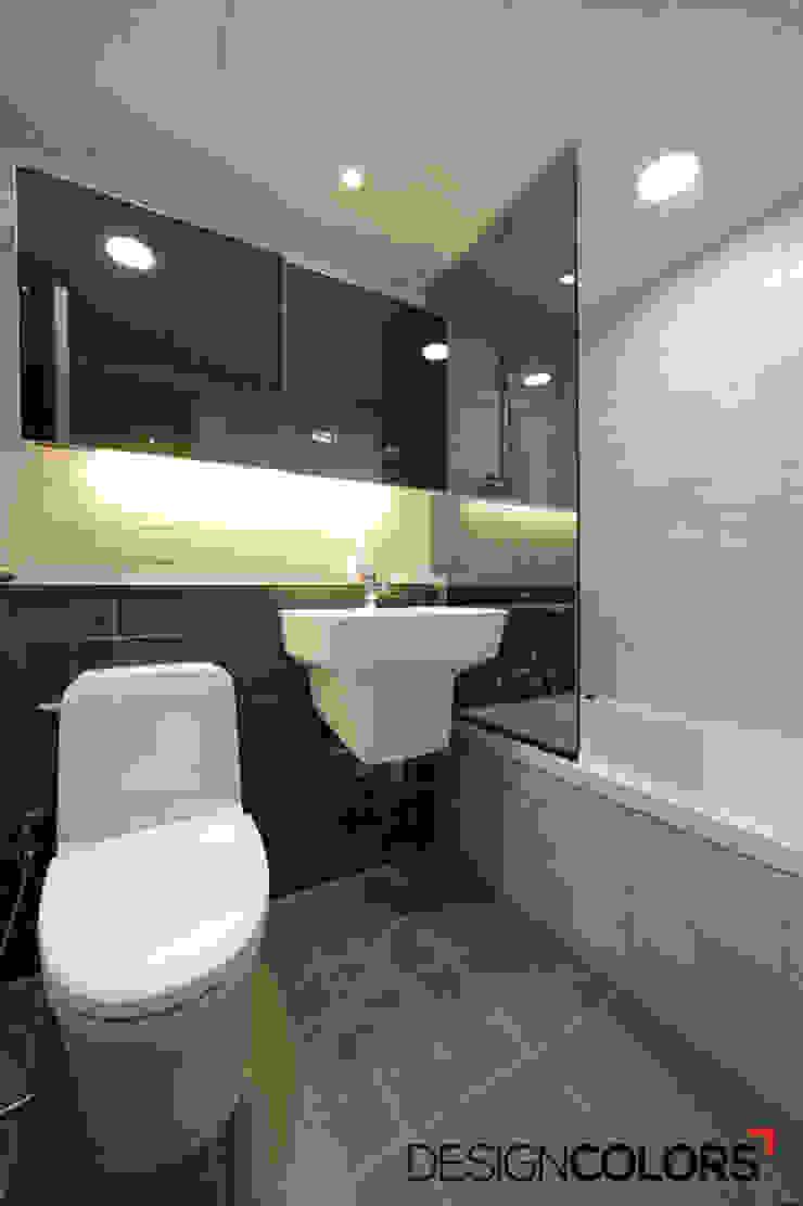 마포구 상암동 월드컵파크3단지 아파트인테리어 32평 모던스타일 욕실 by DESIGNCOLORS 모던