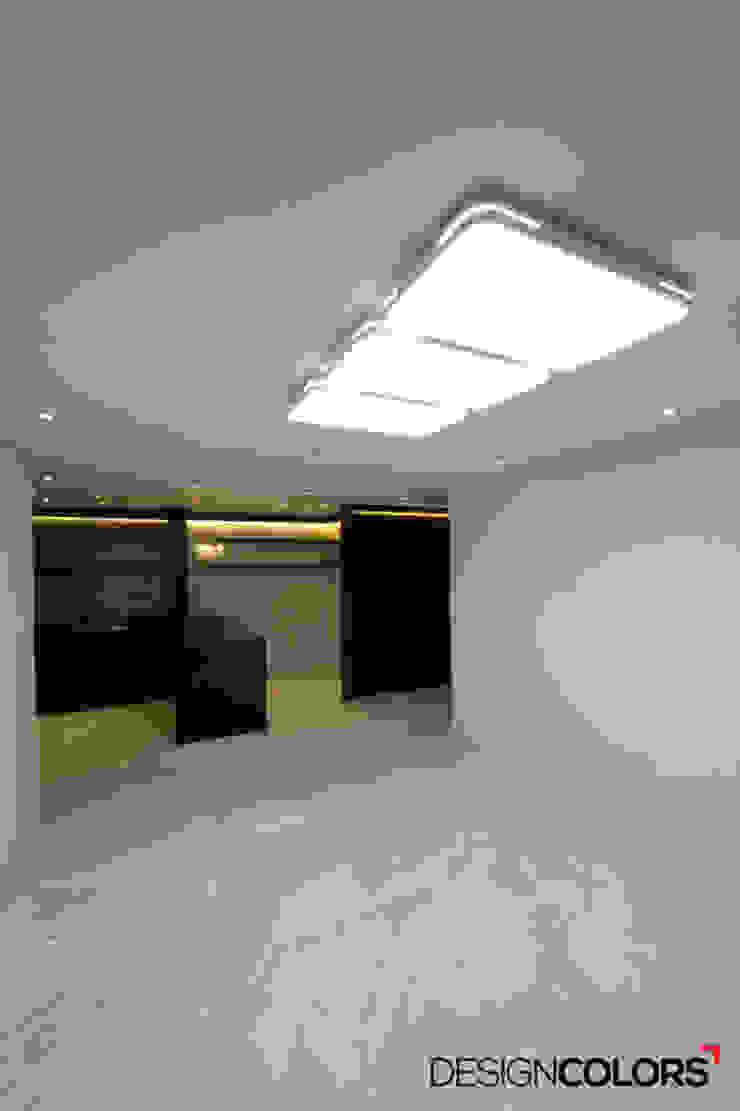 마포구 도화동 우성아파트 인테리어 29평 모던스타일 거실 by DESIGNCOLORS 모던