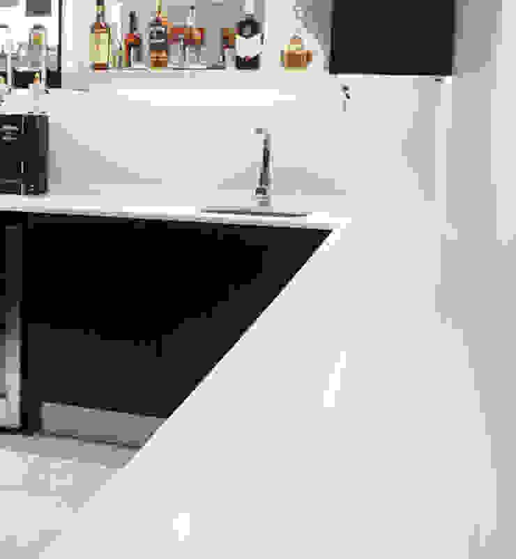 Modern & Contrasting by ilisi Interior Architectural Design Modern Quartz