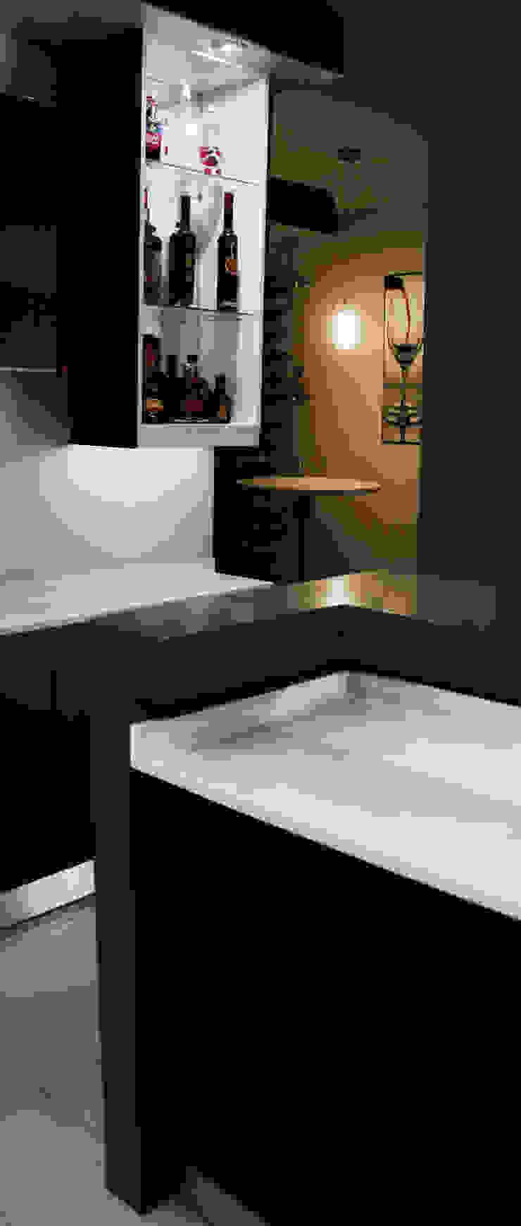 Modern cut by ilisi Interior Architectural Design Modern Quartz