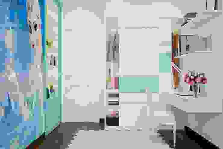 Nội thất phòng ngủ nhỏ hiện đại bởi Công ty TNHH Nội Thất Mạnh Hệ Hiện đại