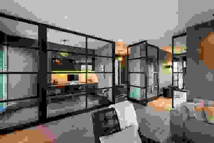 Villa Landelijke woonkamers van Bongers Architecten Landelijk