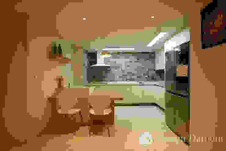 광장동 워커힐팰리스 40py 주방 모던스타일 주방 by Design Daroom 디자인다룸 모던