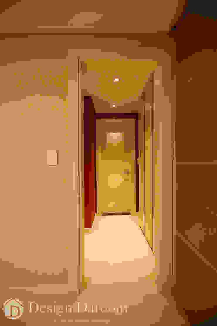 광장동 워커힐팰리스 40py 안방 모던스타일 침실 by Design Daroom 디자인다룸 모던