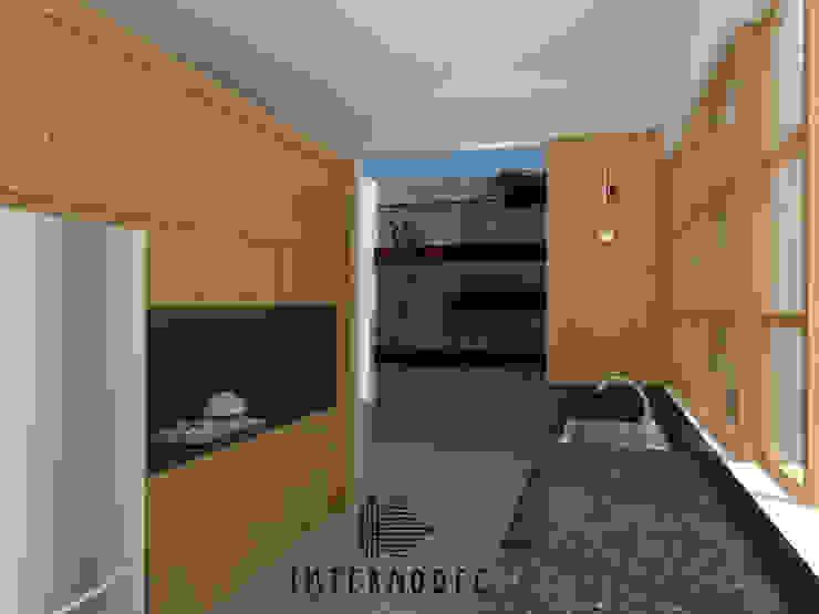 Cocinas minimalistas de Internodec Minimalista