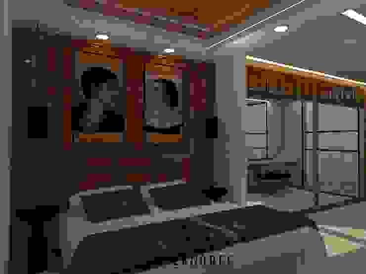 Kamar Utama Kamar Tidur Modern Oleh Internodec Modern