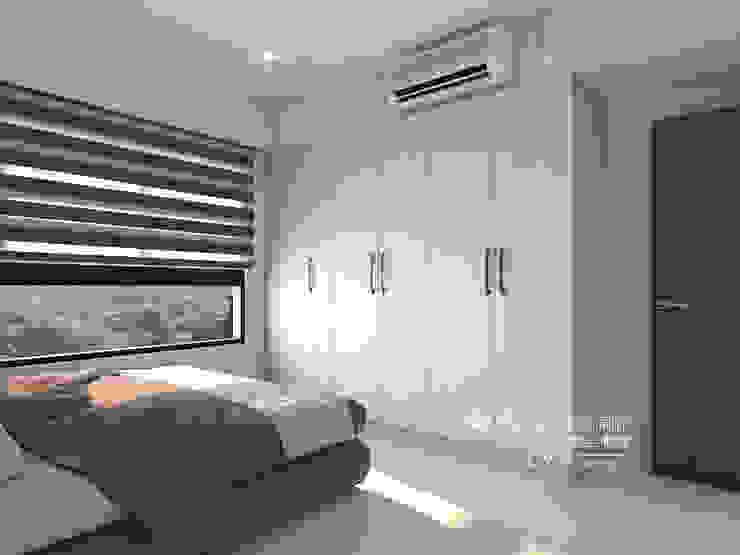 臥室/歐式系統傢俱 根據 木博士團隊/動念室內設計制作 現代風