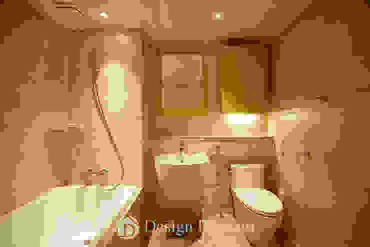 광장동 워커힐팰리스 40py 욕실 모던스타일 욕실 by Design Daroom 디자인다룸 모던