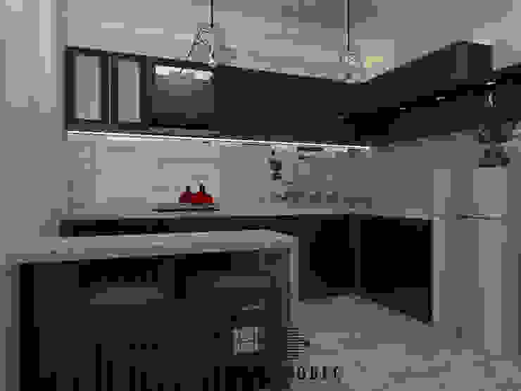 Private Residence Mrs. OM Dapur Modern Oleh Internodec Modern