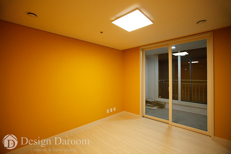 광장동 워커힐팰리스 40py 침실 모던스타일 침실 by Design Daroom 디자인다룸 모던