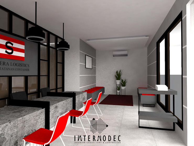 Customer Service Area by Internodec Modern