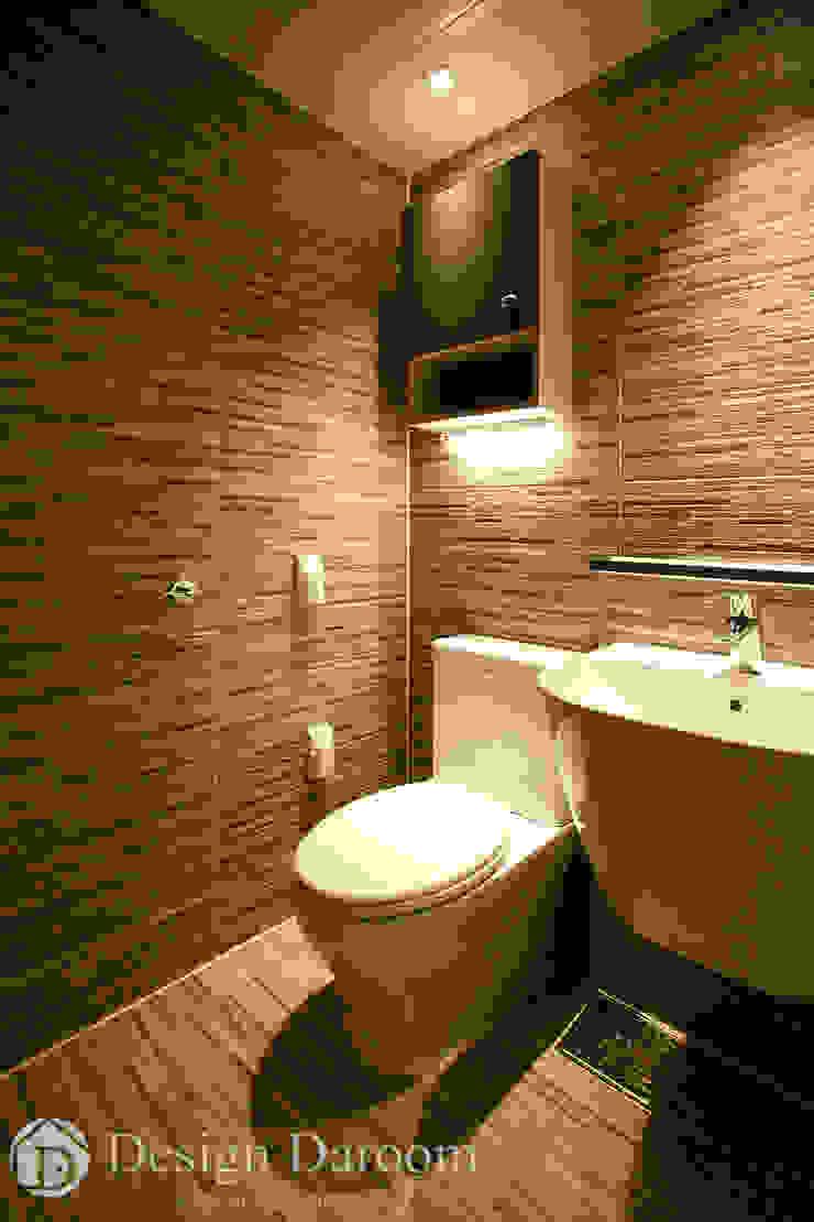 광장동 워커힐팰리스 40py 거실욕실 모던스타일 욕실 by Design Daroom 디자인다룸 모던