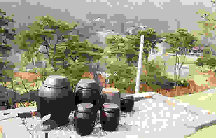 Front yard by 더존하우징, Modern