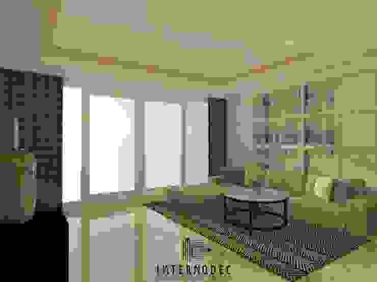 Ruang Tamu & Keluarga Ruang Keluarga Modern Oleh Internodec Modern