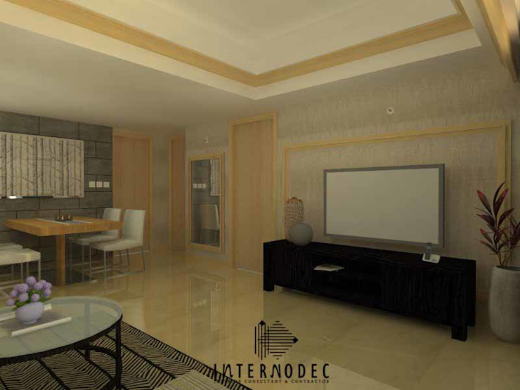 Apartment MR. DS Modern Living Room by Internodec Modern