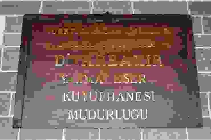 YAZMA ESERLER MÜZESİ DİYARBAKIR OFİS & OFİS MOBİLYA Modern