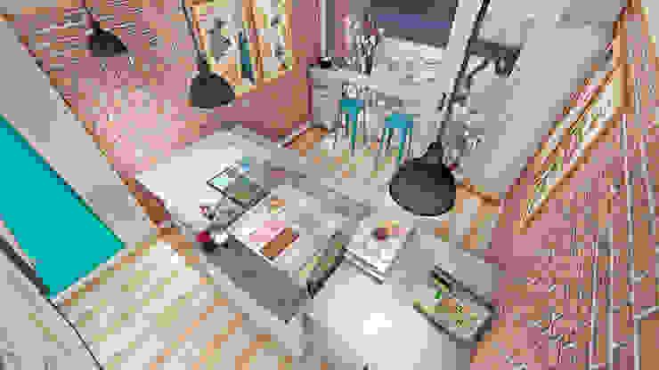 Zona de atención de Lagom Studio Moderno